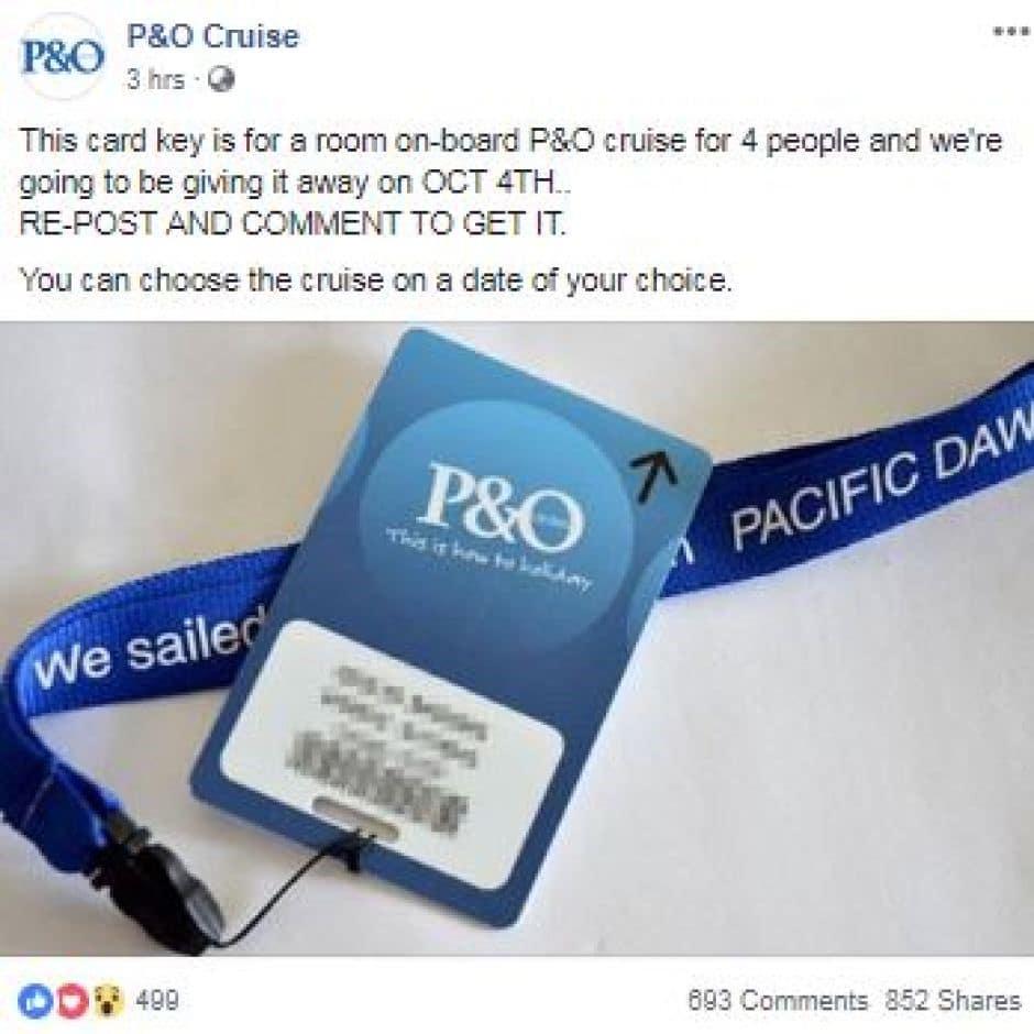 P&O Scam